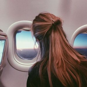Air Travel and Healthy Hair!