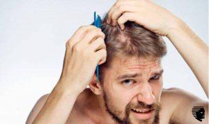 men combing hair